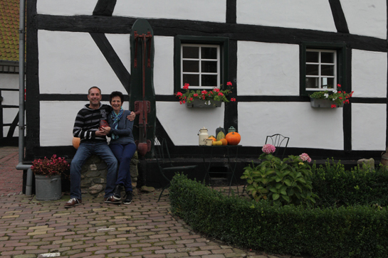 Petra and Jan in the province of Limburg Netherlands