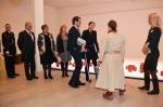 Royal visit @ exhibition 100MIGRATORY